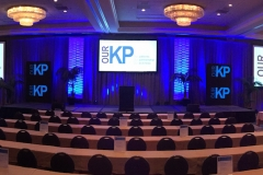 5 Projected Screens + 2 Customized LED Walls + Audio
