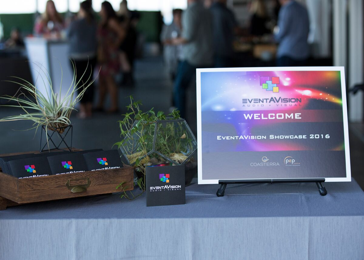 EventAVision Showcase 2016 - Audio Visual